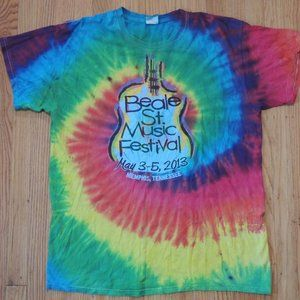 Other - Beale St Music Festival T shirt Multicolor Tie Dye